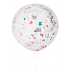 Meri Meri - Balon gigant Gwiazdki kolorowe