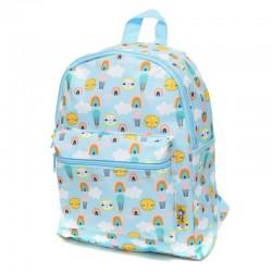 Petit Monkey - Plecak dla Przedszkolaka HOT AIR BALOONS BLUE