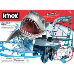 K'Nex - Shark Attack Coaster zestaw konstrukcyjny Kolejka górska Rekin