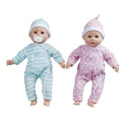 Lalka bobas bliźniaki Luke i Lucy