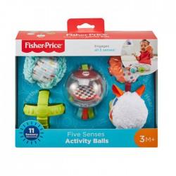 Fisher-Price Sensoryczne kuleczki Zabawka dla dzieci