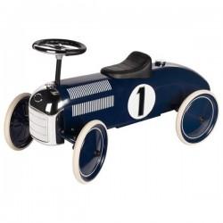 Jeździk Goki - granatowa wyścigówka