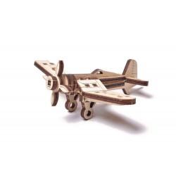WoodTrick Puzzle mechaniczny samolot Korsarz