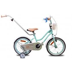 """Rowerek dla dzieci 12"""" Heart bike - miętowy"""