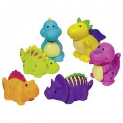 Zestaw dinozaurów do kąpieli - 6 sztuk