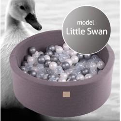 Suchy basen dla dziecka 90x40 cm + 250 piłek - Little Swan