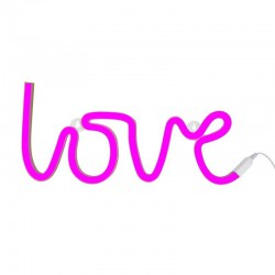 A Little Lovely Company - Neon świetlny LOVE IS PINK