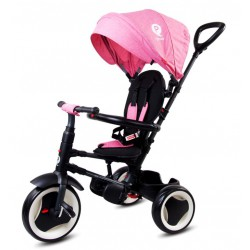 Rowerek trójkołowy Qplay Rito - różowy