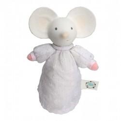 Meiya & Alvin - Meiya Mouse Organic SOFT Squeaker z kauczukową główką