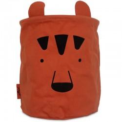 Jollein - Pojemnik na zabawki Basket Animal Club Rust
