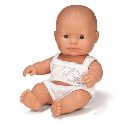 Lalka chłopczyk Europejczyk 21cm