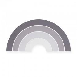 Jollein - Lampa ścienna Tęcza Rainbow Grey