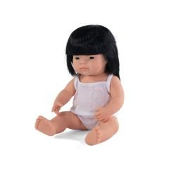 Lalka dziewczynka Azjatka 38cm Miniland Doll