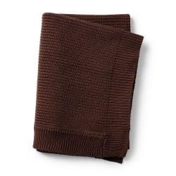 Elodie Details - Kocyk wełniany - Chocolate