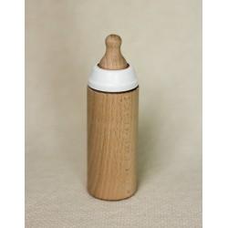 Butelka drewniana dla lalki Miniland Waniliowa
