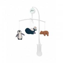Jollein - Karuzela muzyczna do łóżeczka Baby Mobile Polar