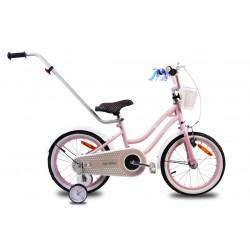 """Rowerek dla dzieci 16"""" Heart bike - różowy"""