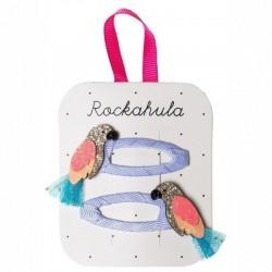 Rockahula Kids - spinki do włosów Pablo Parrot