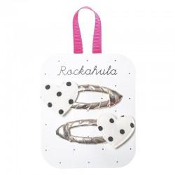 Rockahula Kids - spinki do włosów Spotty Heart