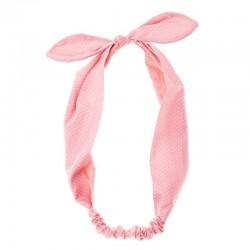 Rockahula Kids - opaska do włosów Spotty Bow Pink