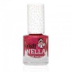 MISS NELLA - Bezzapachowy lakier do paznokci dla dzieci PEEL OFF Tickle Me Pink