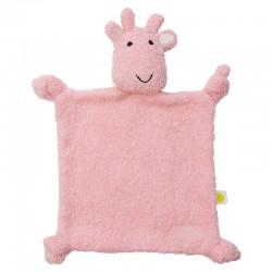 Jollein - przytulanka doudou do usypiania Giraffe Candy Pink