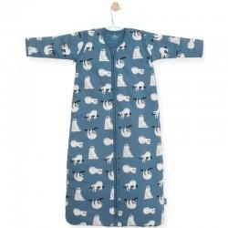 Jollein - Śpiworek niemowlęcy całoroczny 4 pory roku z odpinanymi rękawami Lazybones 110 cm