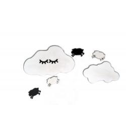 Dekoracyjne obłoczki z owieczkami
