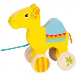 Wielbłąd Wiesław do ciągnięcia na sznurku