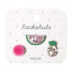 Rockahula Kids - 3 pierścionki Happy Watermelon