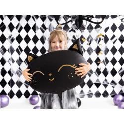 Balon foliowy Kotek 48x36cm - czarny