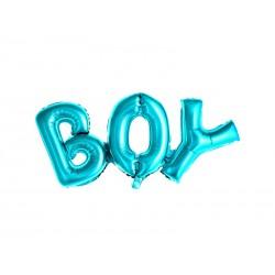 Balon foliowy Boy 67x29cm - niebieski
