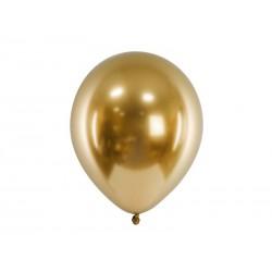 Balony Glossy 30cm, złoty (1 op. / 50 szt.)