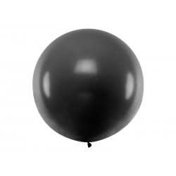 Balon okrągły 1m, Pastel Black