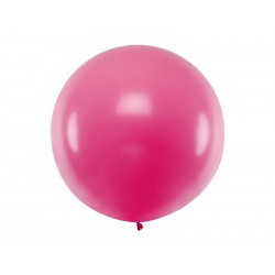 Balon okrągły 1m, Pastel Fuchsia