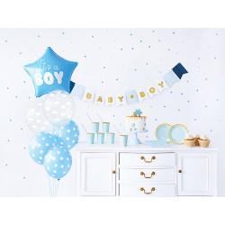 Zestaw dekoracji party - It's a boy (1 karton / 8 op.)