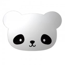 A Little Lovely Company - lustro ścienne z naklejkami Panda & Miś