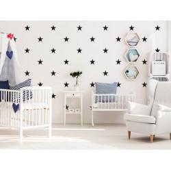 Naklejki na ścianę - Gwiazdki małe