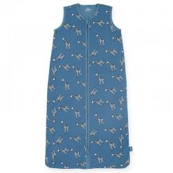 Jollein - Śpiworek niemowlęcy letni Summer GIRAFFE Jeans Blue 70 cm