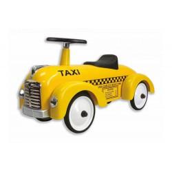 Wyścigówka Taxi metalowy jeździk