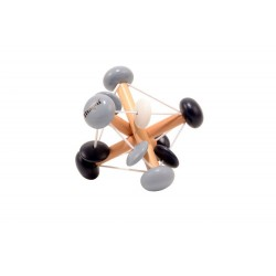Grzechotka elastyczna czarna
