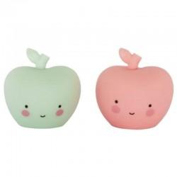 A Little Lovely Company - zestaw do dekoracji Minis Apples