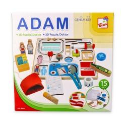 Drewniany zestaw lekarza Adam