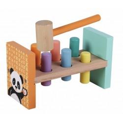 Zabawka drewniana wbijanka Hammer Brench