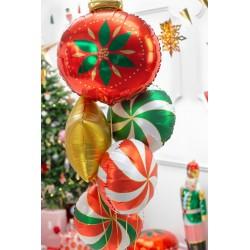 Balon foliowy Cukierek, 35cm, zielony