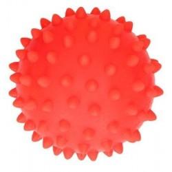 Piłeczka sensoryczna jeżyk do masażu - czerwona