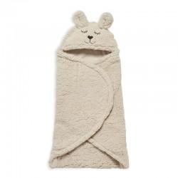 Jollein - Śpiworek otulacz do fotelika i wózka Bunny NOUGAT