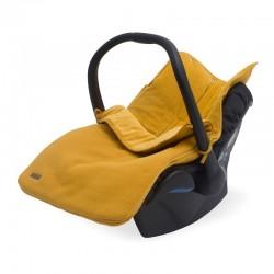 Jollein - Śpiworek oddychający do wózka i fotelika Brick Velvet Mustar
