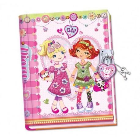 """Ręcznie robiony pamiętnik """"Przyjaciółki na zawsze"""""""