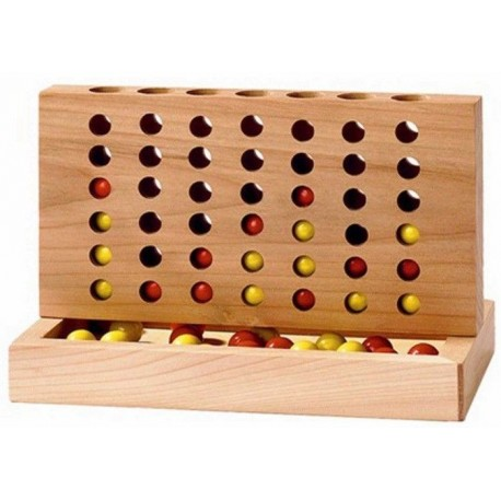 Gra logiczna 4 w rzędzie - zwycięska czwórka